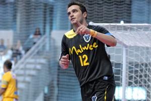 Falcão é o artilheiro da Liga Futsal