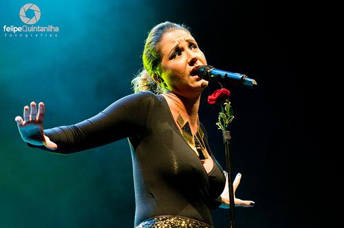 Maria Rita encantou o público em Cabo Frio