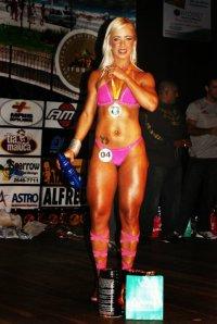 Michelle Câmara, uma das atletas de Cabo Frio no wellness