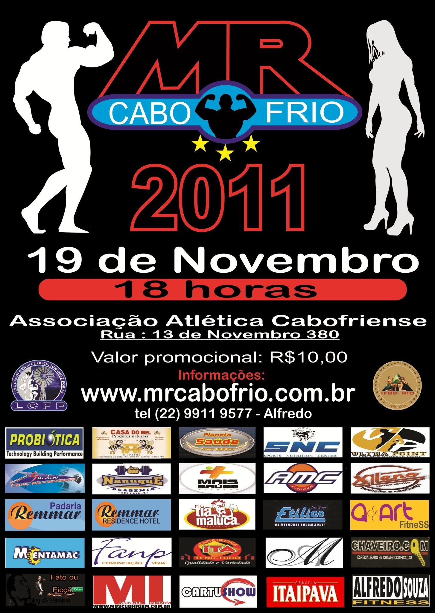 Mr. Cabo Frio 2011